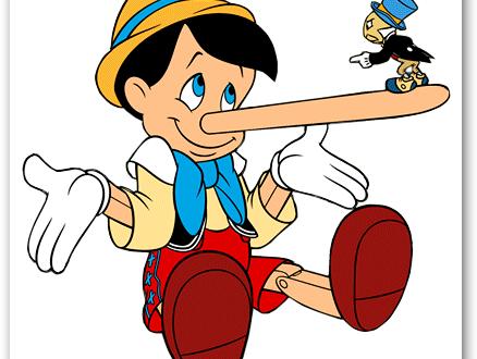 Le bugie alla lunga frantumano i rapporti…